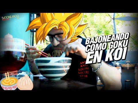 Bajoneando como Goku en KOI