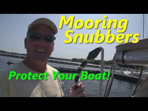 Mooring Snubbers - Boating Basics