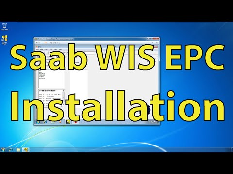 Saab WIS and EPC Part 1: Installation - Trionic Seven