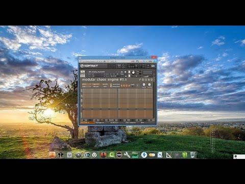 Sound Dust Modular Chaos Engine : Drum Machines madness !!!