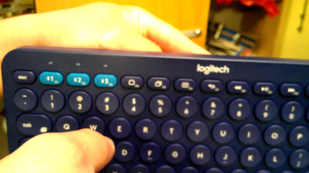 logitech K380 Bluetooth Keyboard - Part 1 Unboxing