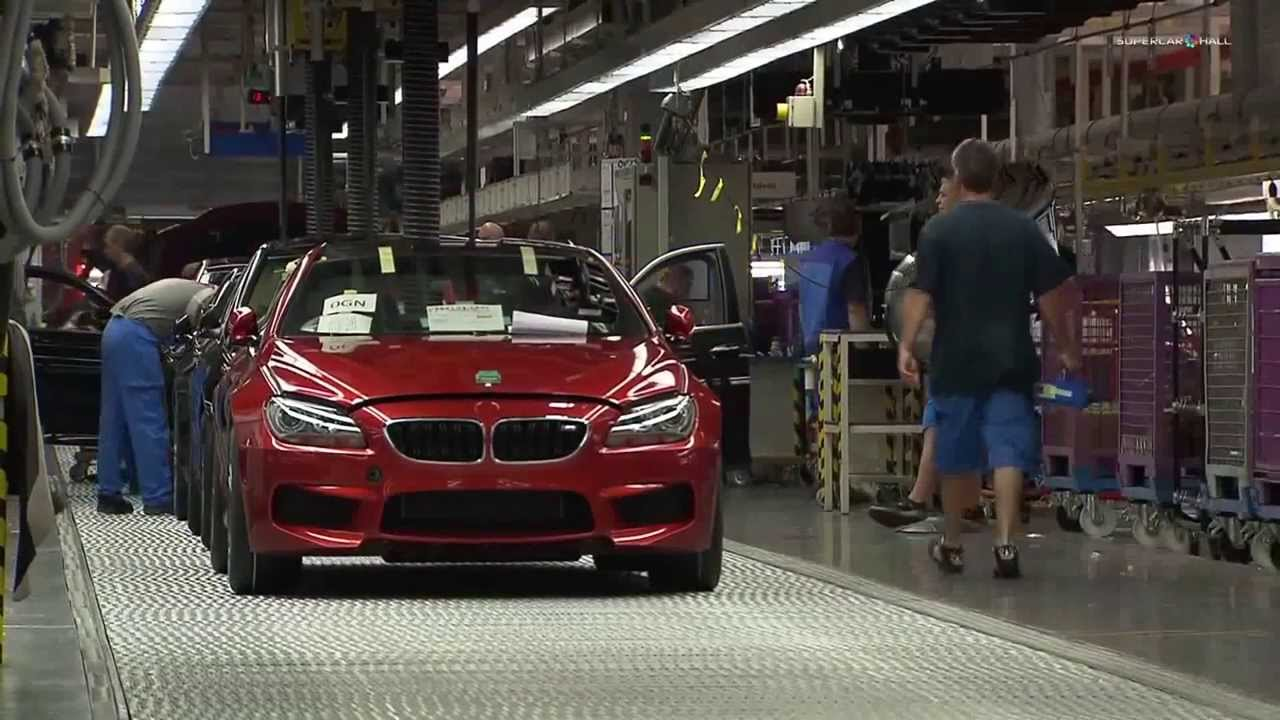 Bmw Dingolfing Plant Final Assembly Youtube
