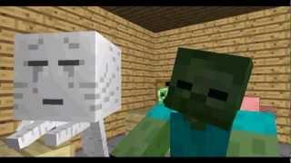 Monstruo De La Escuela: Artesanía - Minecraft Animation