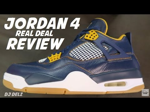 c45dba7e7160c7 Air Jordan 4 Dunk From Above IV Sneaker Detailed Real Review - YouTube