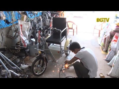 Chế tạo xe lăn điện cho người khuyết tật
