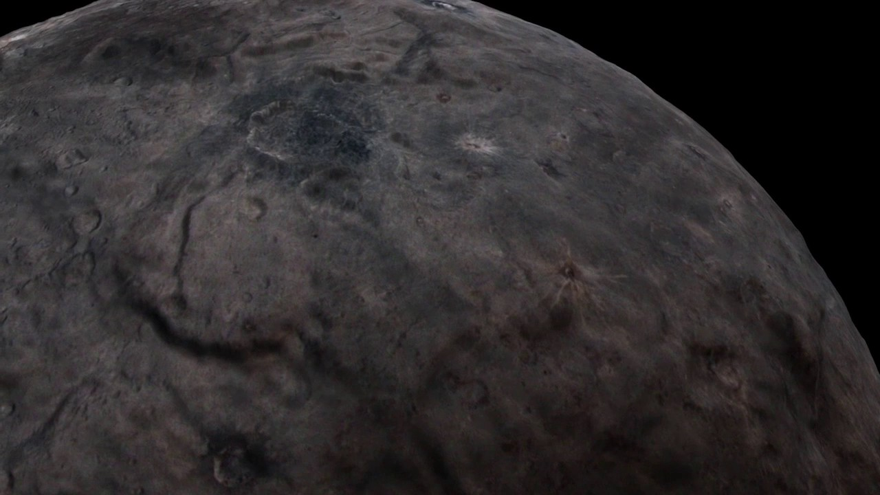 New Horizons Flyover of Charon