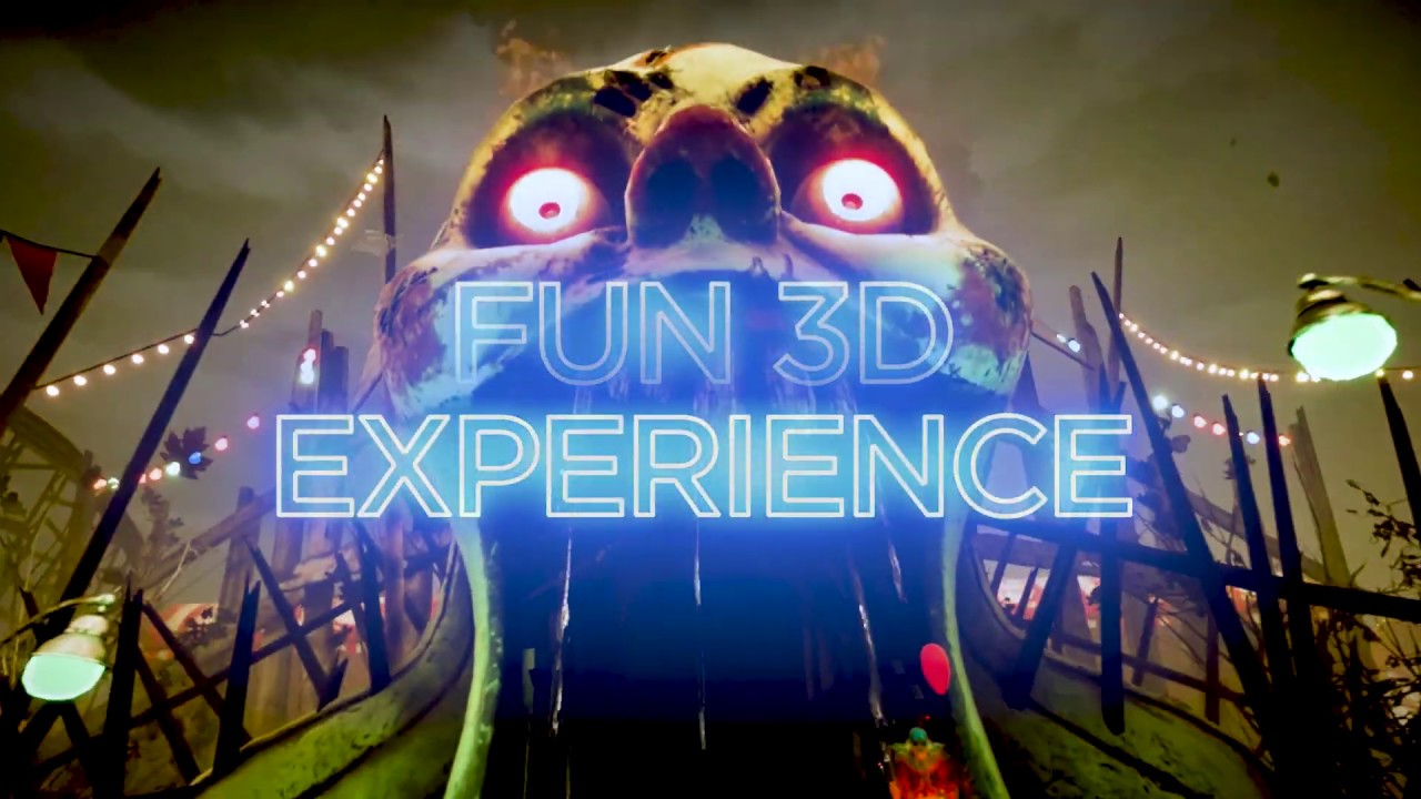 Experience the thrill of our XD Dark Ride! (Carnival)