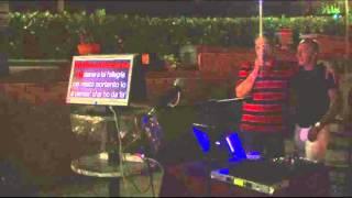 Karaoke: Tonino Gaetani canta L'Urtimo amico di Franco Califano