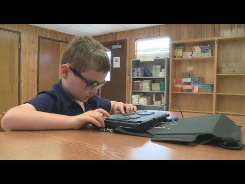 Austin 2nd grader masters Braille as he prepares for competition