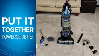 How to Assemble Your PowerGlide® Pet Vacuum