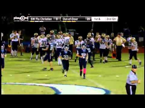Football  SW Florida Christian Vs Out Of Door Academy