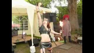 Fire Eater At Gingerade 2012