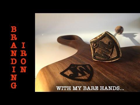 Branding Iron Made by Hand