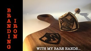 Branding Iron Made by Hand