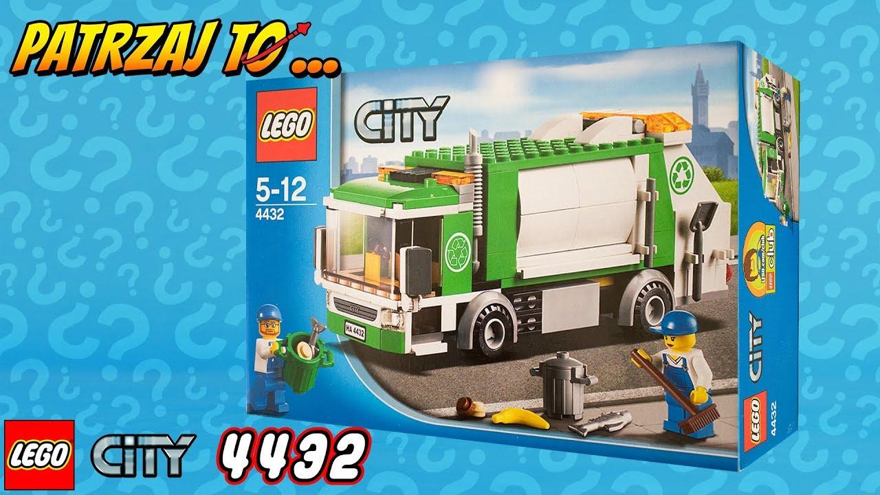 Recenzja Zestawu Lego City 4432 Garbage Truck śmieciarka