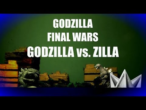 Godzilla vs. Zilla: Godzilla Final Wars - TOY FOOTAGE ...