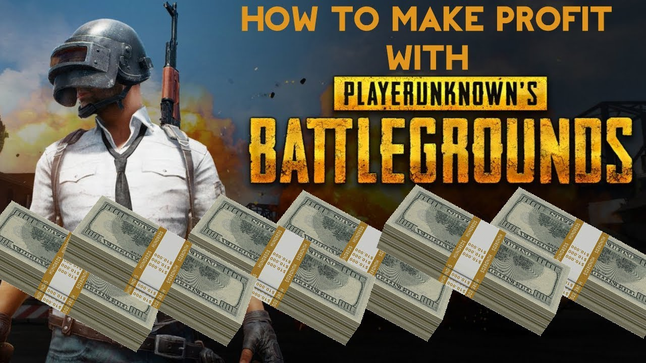 Pubg Create: How To Make Profit With PUBG Now!