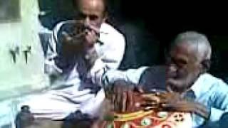 Sindhi Music - Ustad Mitha Khan Zardari playing
