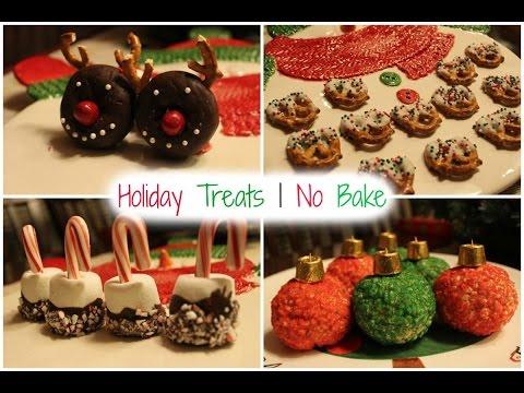DIY HOLIDAY TREATS   NO BAKE