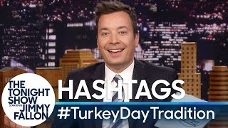 Hashtags: #TurkeyDayTradition