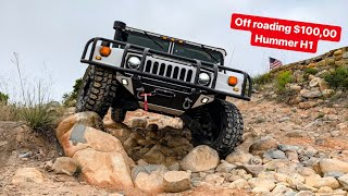 BEST OFF ROADING $100,000 HUMMER H1! *NEW WHEEL TIRE TEST*