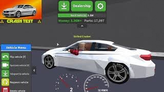 ROBLOX - Crash test BMW 435i [Car crushers 2]