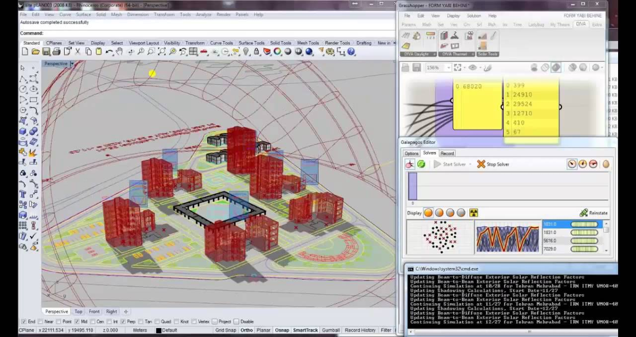 Energy Efficiency In Parametric Algorithmic Architectural