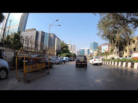 4K Drive To South Mumbai, IN (via Mahim)