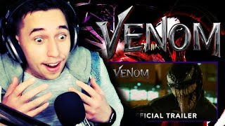 ''WE ARE VENOM!!''| VENOM - Official Trailer (HD) REACTION!!