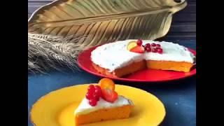 Морковный торт на стевии
