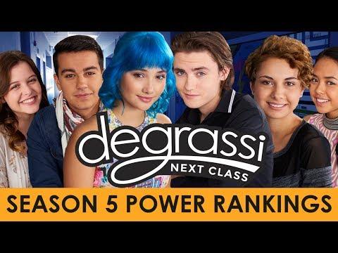 Degrassi: Next Class Season 5 Power Rankings