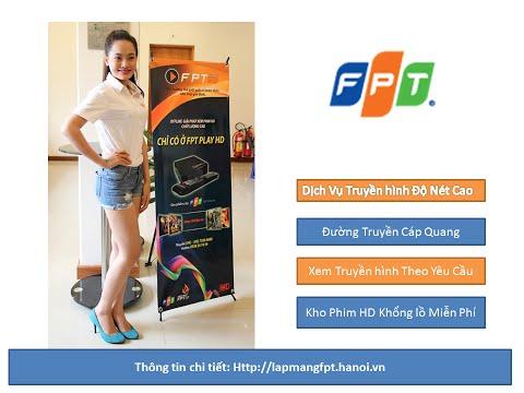 Truyền hình cáp FPT HD Lắp đặt miễn phí trên đường cáp quang gia đình