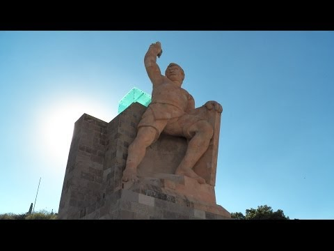 Monumento a El Pípila, Guanajuato, México