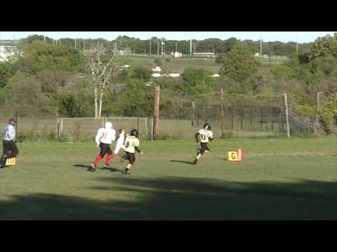 Andrew Taylor  McGregor Bulldogs  football highlights  10242009 vs. Lorena