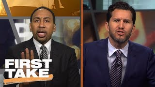 Stephen A. and Will Cain Have Verbal Battle Over Phil Jackson | First Take | June 28, 2017