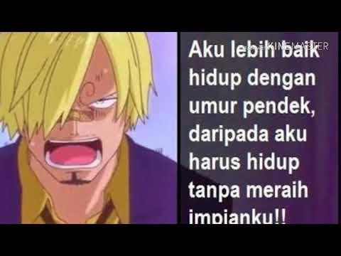 Kata Kata Bijak One Piece Youtube