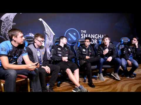Evil Geniuses: a house in Belarus (interview at Shanghai Major)