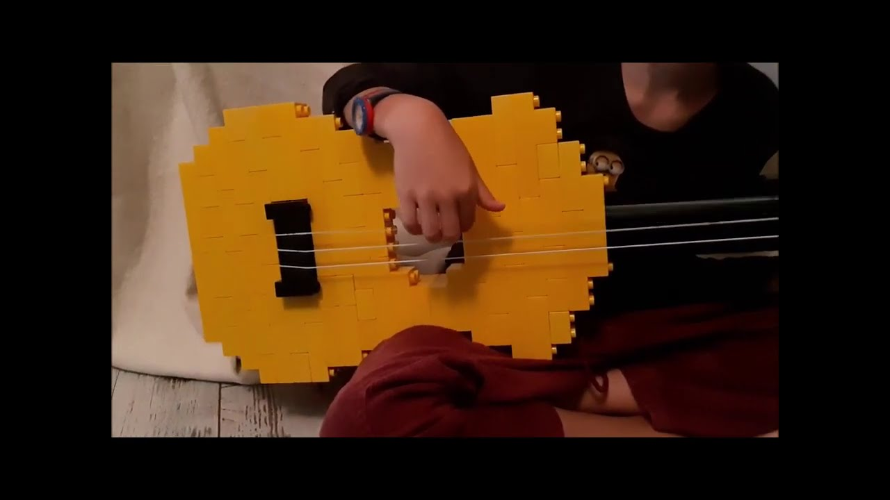 The White Stripes Seven Nation Army Guitar Duplo Lego Youtube