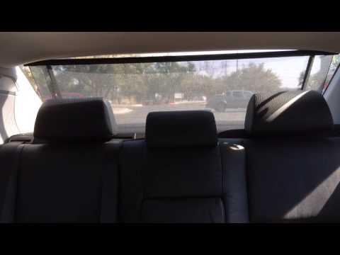 Bmw E46 Power Rear Sunshade Doovi