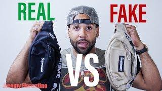 SUPREME SS18 WAIST BAG***REAL VS FAKE!*** (LEGIT CHECK)