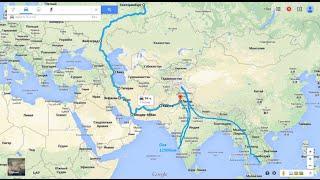 Путешествие по миру на мотоцикле. 1 серия: Россия - Азербайджан