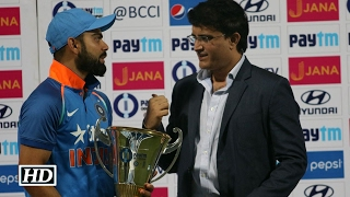 Former Captain Sourav Ganguly praises Virat Kohli Subscribe http://bit.ly/subscribe-ians-india for latest happenings in Bollywood entertainment, Hindi TV Cinema and your favourite Sports celebrities, their Exclusive news updates.  Former Indian cricketer Sourav Ganguly, who is the president of Cricket Association of Bengal (CAB) and played 113 Tests and 311 ODIs for India, was praised present Indian Cricket Captain Virat Kohli at National Sports Club Of India's event and feels Virat's passion is unbelievable….  IANS India Videos - Dedicated to bringing you the latest and best in sports and entertainment world. From traditional sports like cricket to best Bollywood entertainment news, IANS India is a must watch on YouTube.  Important Links from IANS India - A must watch on YouTube  http://www.youtube.com/IANSIndia http://bit.ly/IANS-India-Facebook http://bit.ly/IANS-India-Twitter http://bit.ly/IANS-India-Google-Plus http://bit.ly/IANS-India-Linkedin http://bit.ly/IANS-India-Android-app http://bit.ly/IANS-India