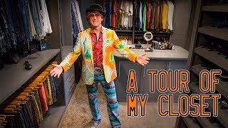 A tour of my closet