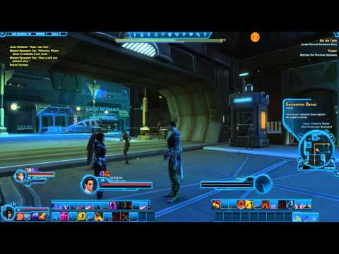 Let's Play Star Wars The Old Republic With Criana Part 77