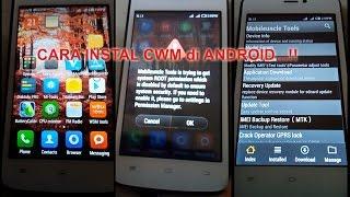 Cara Gampang Pasang Cwm android - belajar Android