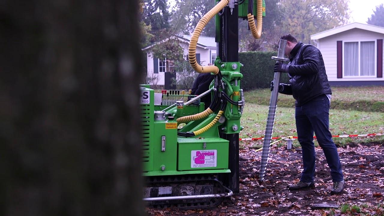 Betere www.solilux.nl - schroeffunderingen monteren onder recreatiewoning YF-88