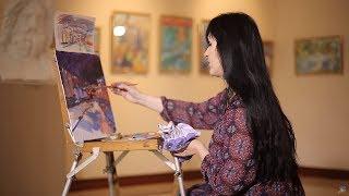 «Уроки рисования». Новогодний Белгород (30.12.2016)