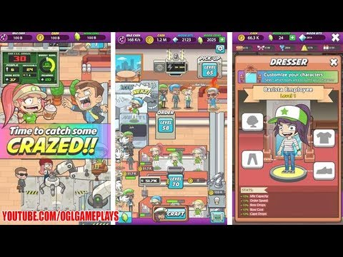 Coffee Craze Idle Barista Tycoon - Android Gameplay