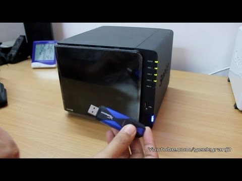 Synology DS412+ USB 3.0 performance test