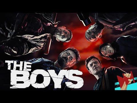 📽Вкратце про ПАЦАНЫ / THE BOYS 💪🧔 [Обзор Сериала]